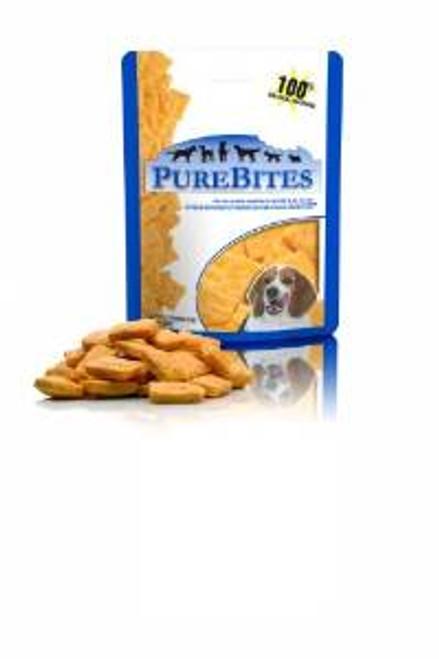 Purebites 100% Usda Freeze Dried Cheddar Cheese Dog Treats 4.2oz