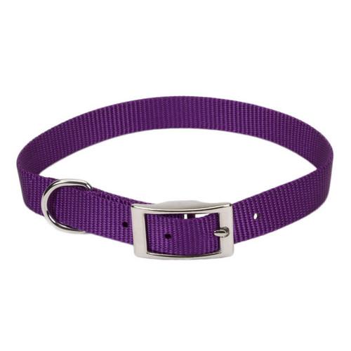 Coastal Single-ply Nylon Collar Purple 5/8x16in