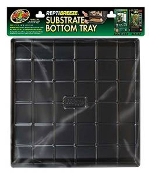 """Zoo Med Reptibreeze Substrate Bottom Tray16""""x16""""x2"""
