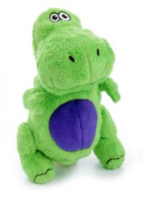 WORLDWISE Godog Green T-rex With Chew Guard Small