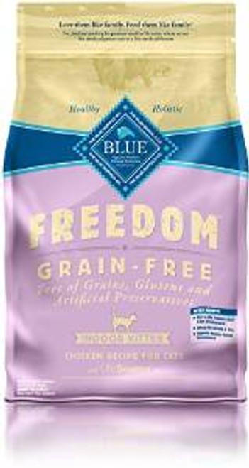 Blue Buffalo Frdm Indr chicken  Kttn 5 Lbs Case of 5