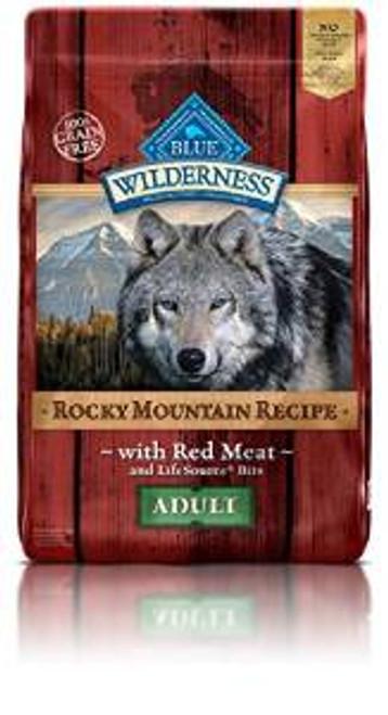 Blue Buffalo Wldns Rck Mtn Red Mt Dog 10 Lbs