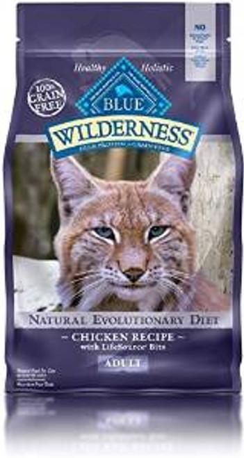 Blue Buffalo Wldns chicken  Cat 2.5 Lbs Case of 6