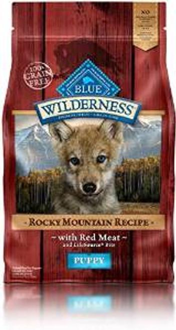 Blue Buffalo Wld Rck Mtn Gf Pup 4 Lbs Case of 5