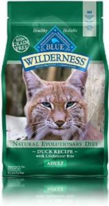 Blue Buffalo Wldns Dck Cat 5 Lbs Case of 5