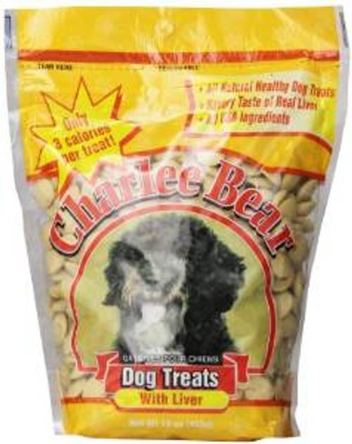 Charlee Bear Liver Dog Treats - 16 Oz. Pouch (each)