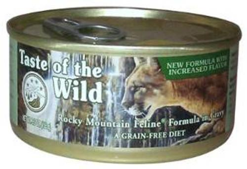 Taste of the Wild Rocky Mtn Feln Can 24/5.5 Oz