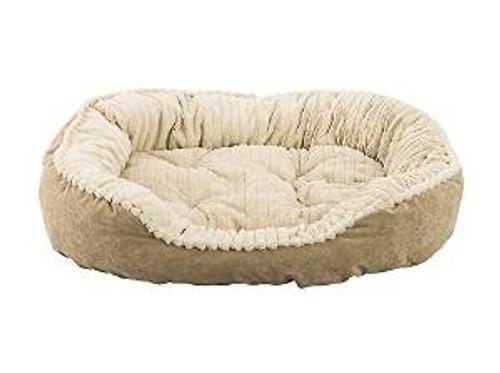 "Ethical Sleep Zone 32"" Tan Plsh Bed"
