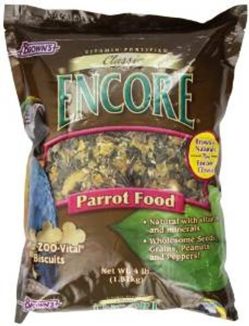 F.M. Brown's Encore Cls Prt Food 4 Lbs Case of 8