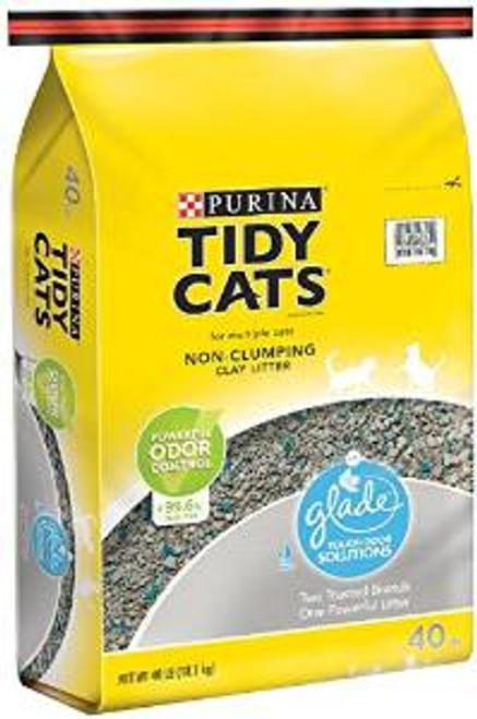 Tidy Cat Glade Odor Conv 40 Lbs