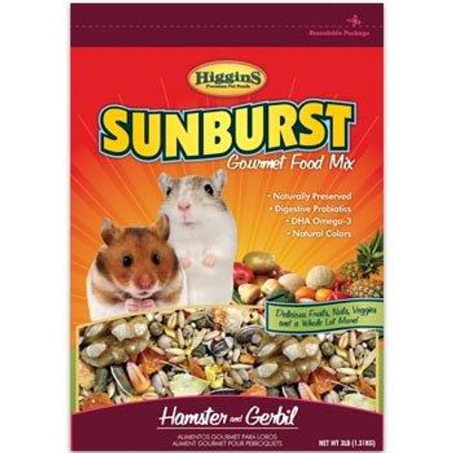 Higgins Sunburst Hamster/Gerbil 25lb