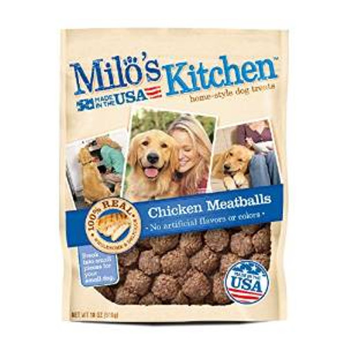 JM SMUCKER Milo's Kitchen Meatballs 4/18 Oz.