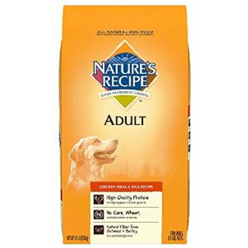 Natures Recipe chicken /rc Adlt Rcp Dry Dog 30 Lbs