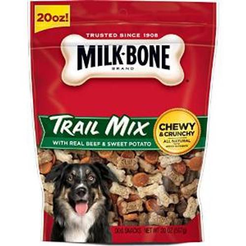 JM SMUCKER Milk Bone Trail Mix W/real Beef & Sweet Potato 4/20oz