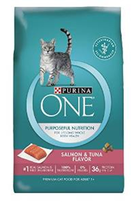 One Adult Cat Slm/tna 16 Lbs