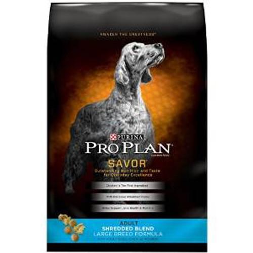 Pro Plan Shrd Blnd Lg Brd Dog 18 Lbs