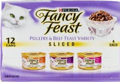 Fancy Feast Slcd Vrty 2-12/3z