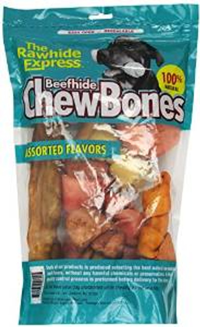 Rawhide Express 2 Lb. Assorted Flavors Value Pack