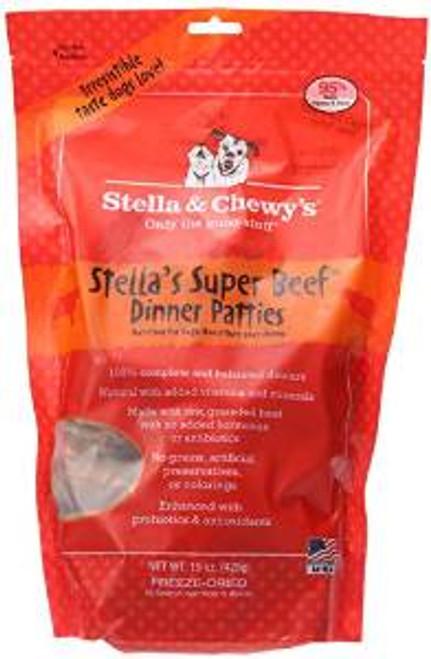 Stella & Chewy's 15 Oz. Freeze-dried Stella's Super Beef Dinner