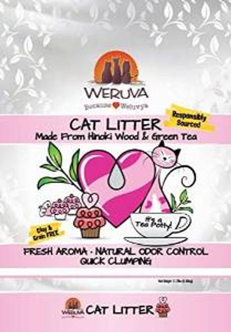 Weruva - It's A Tea Potty! Natural Cat Litter Made From Hinoki Wood And Green Tea. 11.7#