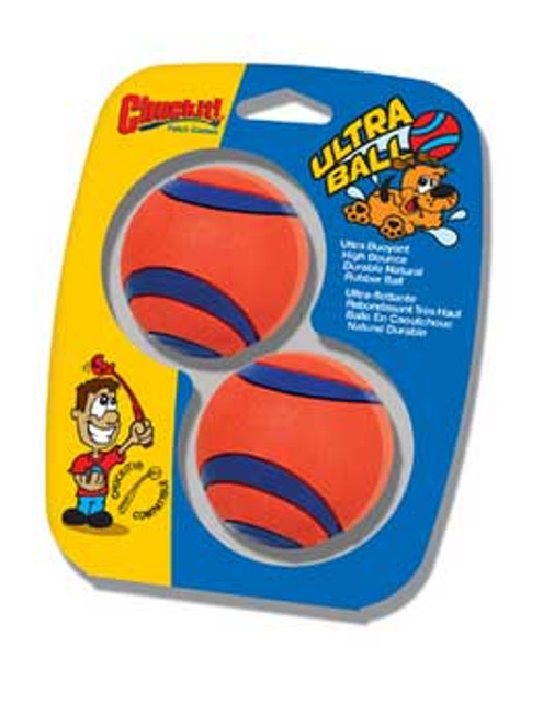 Canine Hardware Ultra Rubber Balls Small 2 Count