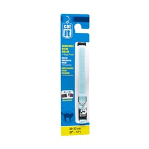Catit Breakaway Adj Collar 8-13in Blue{requires 3-7 Days before shipping out}
