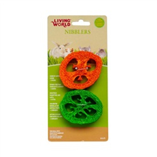 Lw Nibblers Loofah Chews Slices {requires 3-7 Days before shipping out}