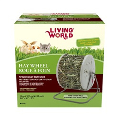 Living World Hay Dispenser{requires 3-7 Days before shipping out}