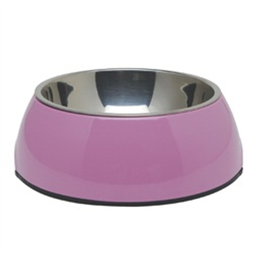 Dogit 2 In 1 Durable Bowl Medium Pink {requires 3-7 Days before shipping out}