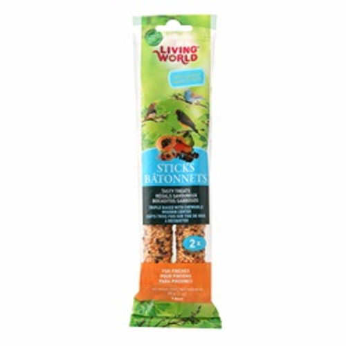 Living World Finch Fruit Sticks 2 Oz {requires 3-7 Days before shipping out}