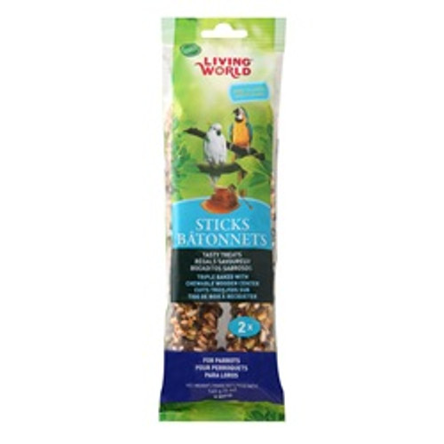 Living World Parrot Honey Sticks 5 Oz{requires 3-7 Days before shipping out}