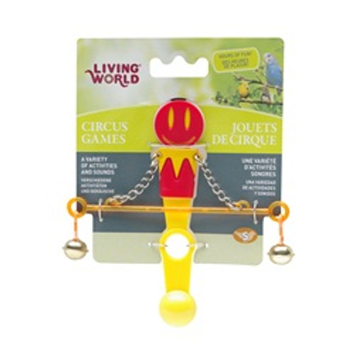 Living World Circus Balance Toy Blue {requires 3-7 Days before shipping out}