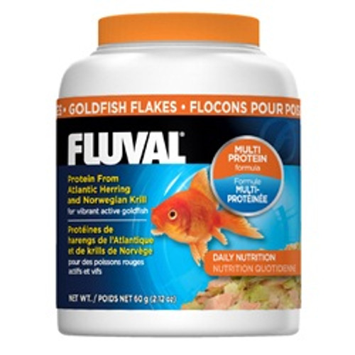 Fluval Goldfish Flakes 2.29oz {requires 3-7 Days before shipping out}