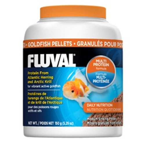 Fluval Goldfish Pellets 5.29oz{requires 3-7 Days before shipping out}