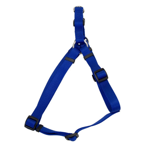 Coastal Standard Adjustable Nylon Harness Blue 1x 26-38in