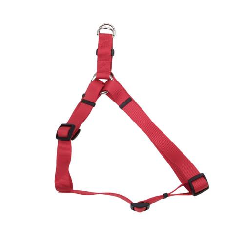 Coastal Comfort Wrap Adjustable Nylon Harness Red 5/8x16-24in Girth