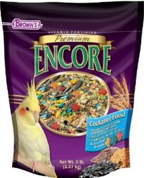 F.M. Brown's 51126 Encore Tiel Food 5 Lb 6-90734