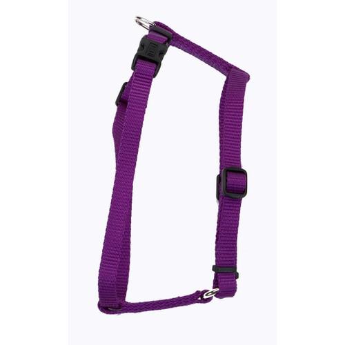 Coastal Standard Adjustable Nylon Harness Purple 1x22ft-38ft