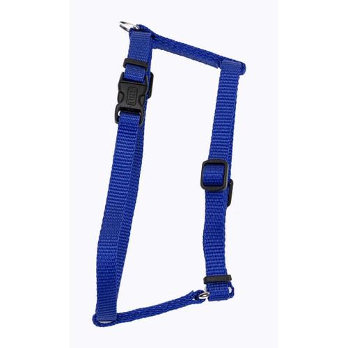 Coastal Standard Adjustable Nylon Harness Blue 3/8x10-18in
