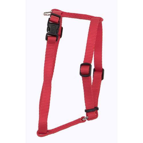 Coastal Standard Adjustable Nylon Harness Red 3/8x10-18in