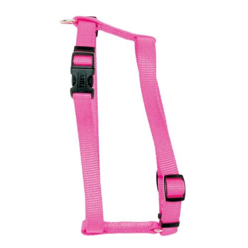 Coastal Standard Adjustable Nylon Harness Neon Pink 3/8x10-18in