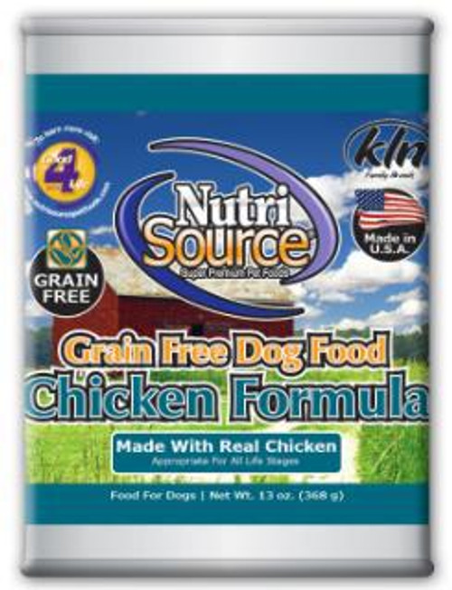 Tuffy Ntrsrc Gf chicken  Dog 12/13z