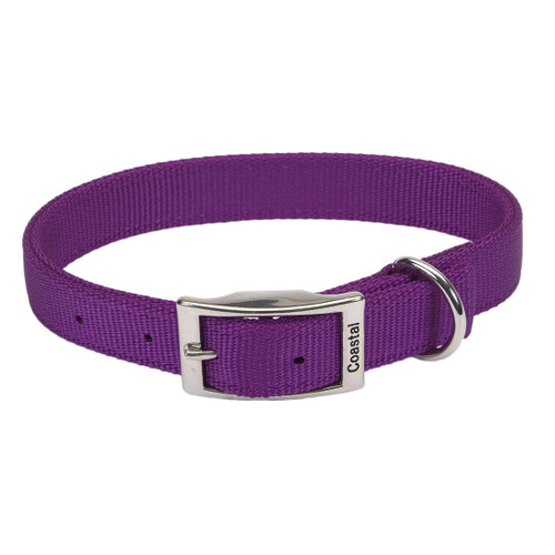 Coastal Double-ply Nylon Collar Purple 1x22in