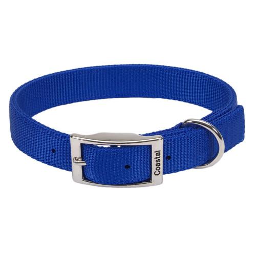 Coastal Double-ply Nylon Collar Blue 1x24in