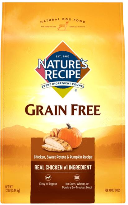Nature's Recipe Grain Free Chicken Recipe 24lb