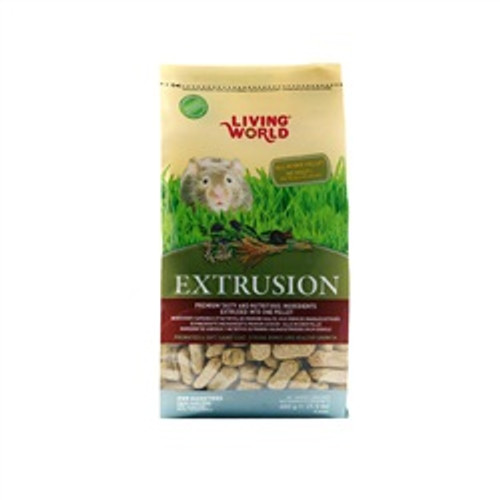 Living World Extrusion Hamster Food 1.5# {requires 3-7 Days before shipping out}