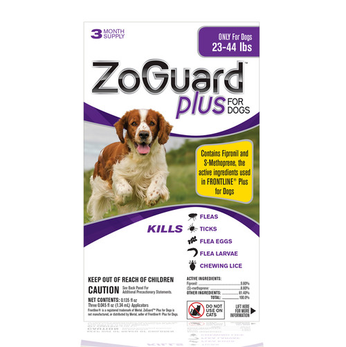 Promika Zoguard Plus For Dogs-23-44 Lbs, 3 Month Supply-{L+1}
