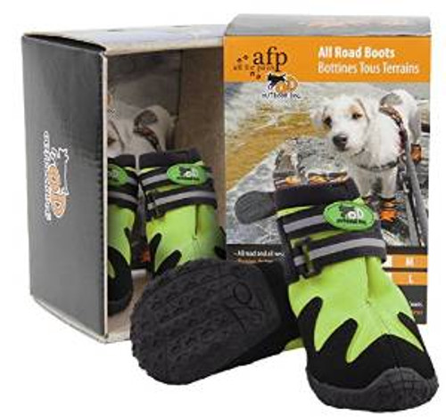 Afp All Road Dog Boots Green Med (8070) {requires 3-7 Days before shipping out}