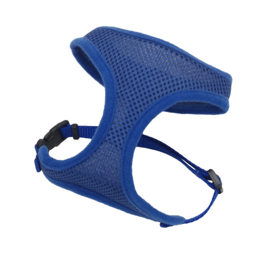 Coastal Comfort Soft Adjustable Harnesss Blue X-small