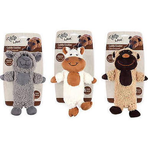 """AFP Lamb Cuddle Crackler 10in Asst(3101)"""""""